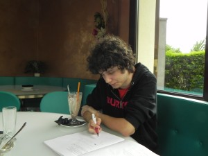 Luca助詞勉強中