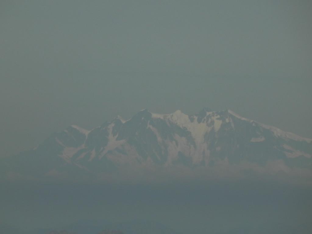 コルヴァッチ展望台からみる モンテローザ